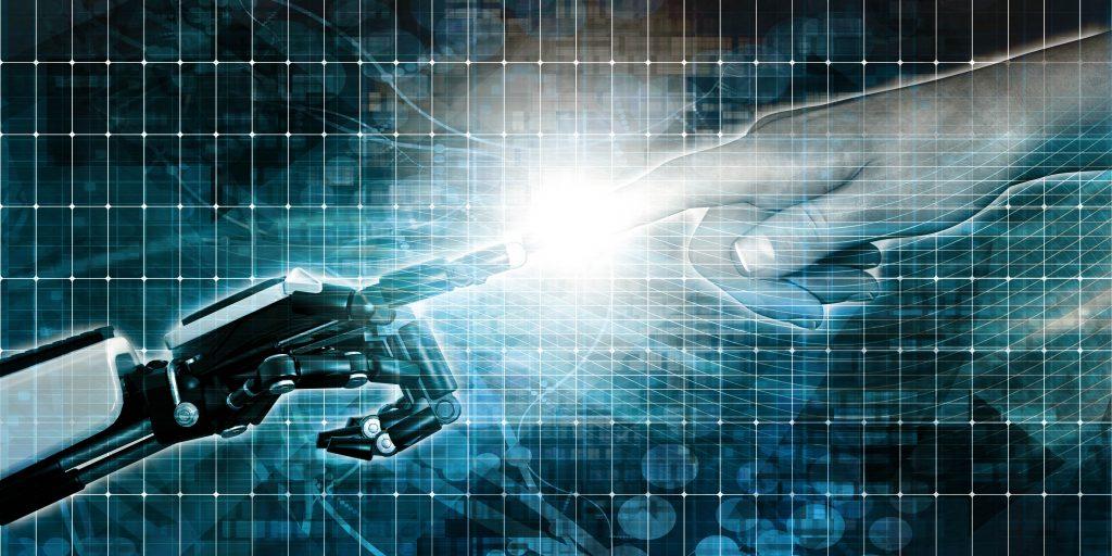 aviation human factors analysis hand touching robot hand in graph