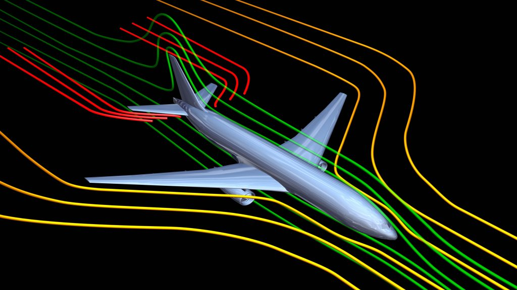 human in the loop simulation airplane simulation line graph